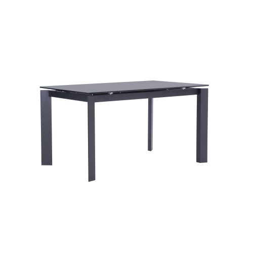 acheter table extensible grise en ceramique