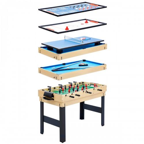 acheter table multi jeux bois d hetre clair