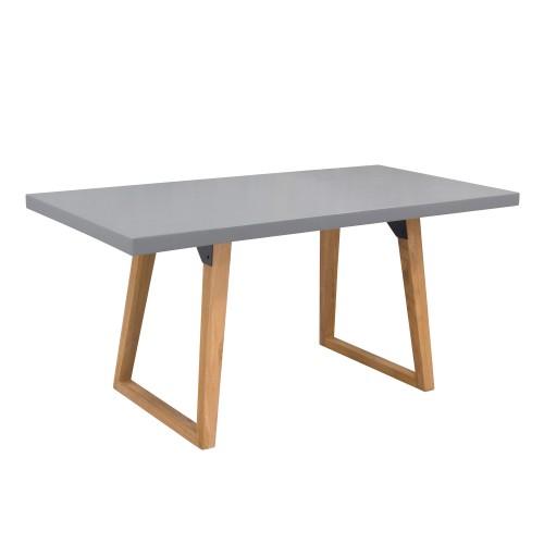 Table rectangulaire Bétina 160 cm en béton