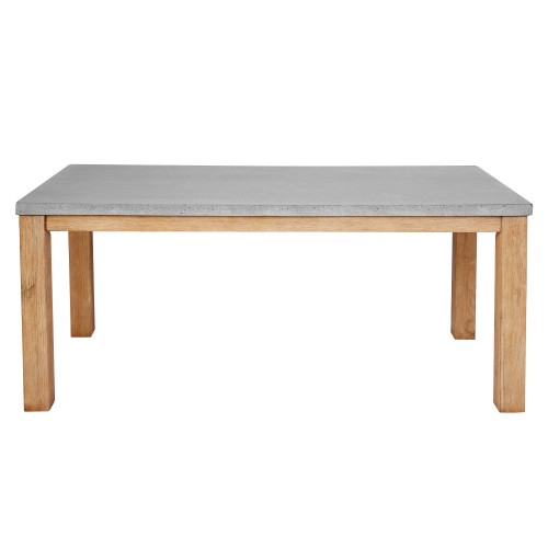 Table rectangulaire Stromboli Lavastone 180 cm