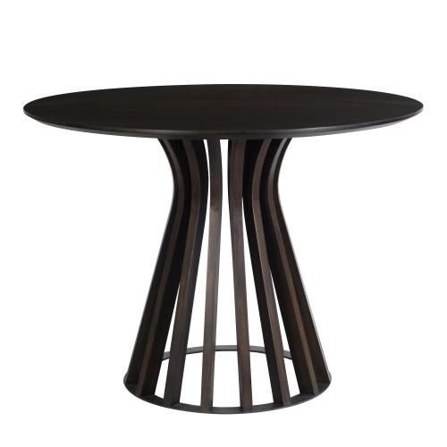 acheter table ronde 110 cm bois