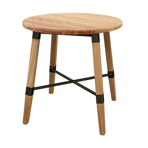 acheter table ronde a manger en bois