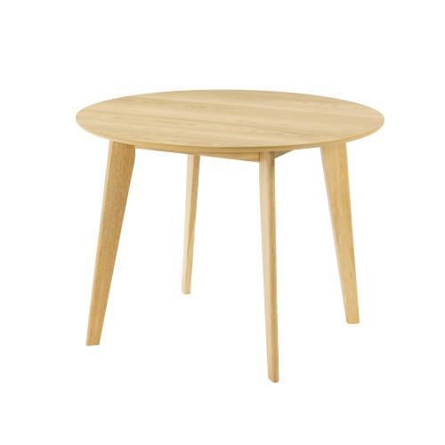 Table ronde Réno Ø100 cm en bois clair