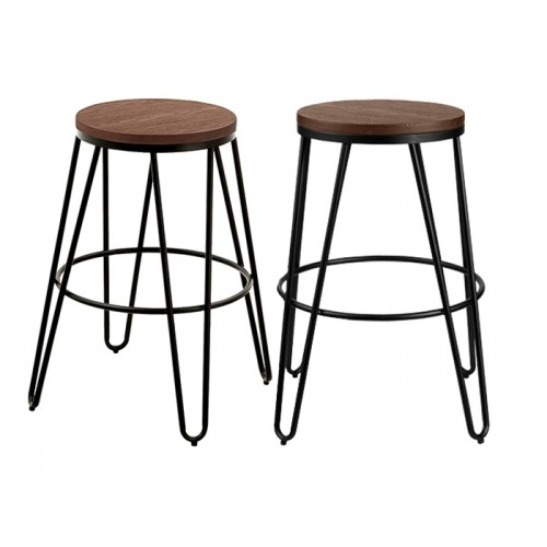 tabouret bar industry lot de 2