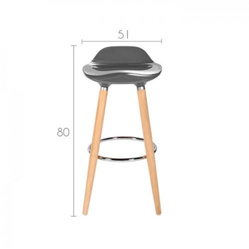tabouret de bar italien gris commandez nos tabourets de bar italiens gris rdv d co. Black Bedroom Furniture Sets. Home Design Ideas
