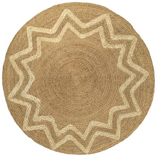 acheter tapis rond ethnique
