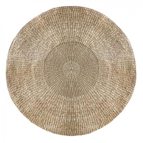 acheter tapis rond tresse 120 cm