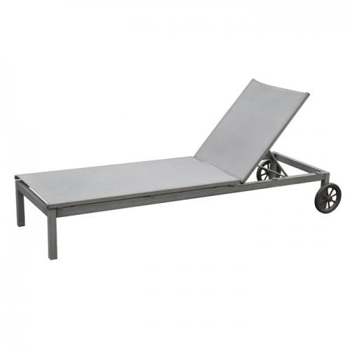 acheter transat confortable en aluminium