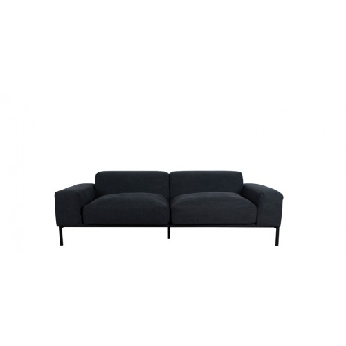 grossiste ad273 d6035 Canapé Helsinki 3 places Anthracite
