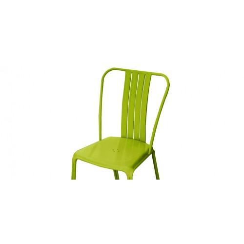 chaise de jardin azuro verte lot de 2 choisissez nos chaises de jardin azuro vertes design. Black Bedroom Furniture Sets. Home Design Ideas
