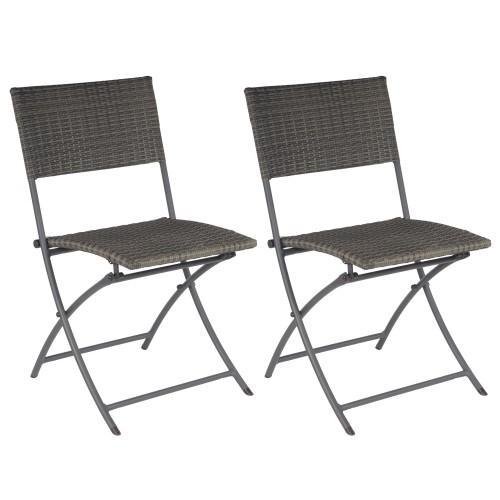 chaise grise d exterieur