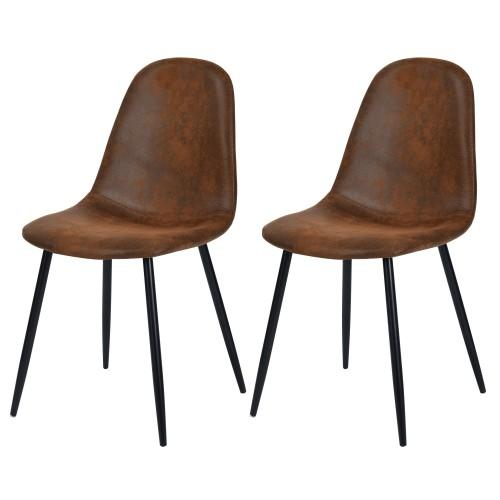 acheter chaise scandinave microfibre