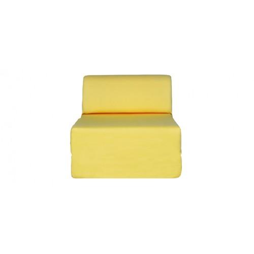 chauffeuse jaune coton 2