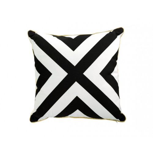 Coussin décoratif Black and White