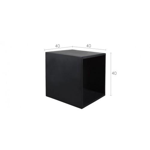 cube en b ton noir commandez nos cubes en b ton noirs rdv d co. Black Bedroom Furniture Sets. Home Design Ideas