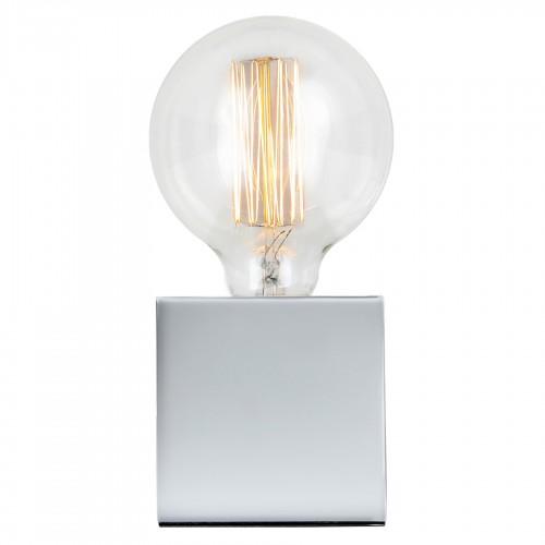 achat lampe design metal argent