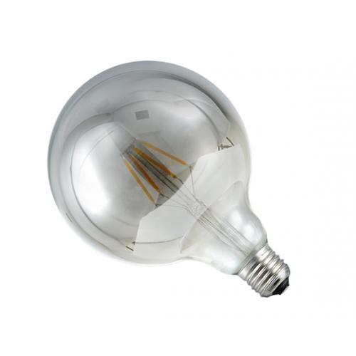 Ampoule globe LED fumée