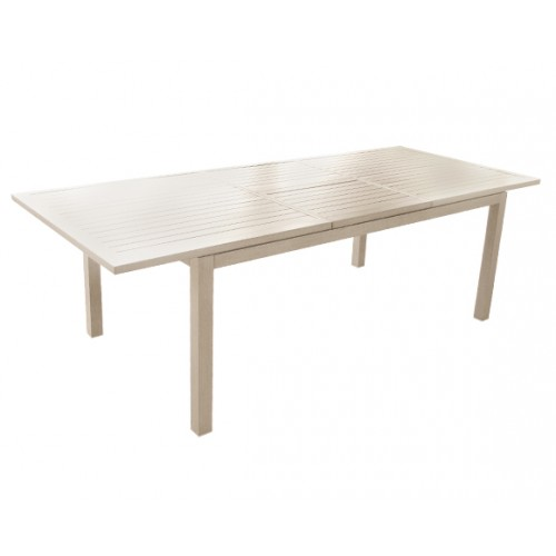Table de jardin extensible 240 cm Mahana lin