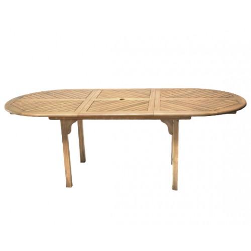 grande table bois design pour exterieur