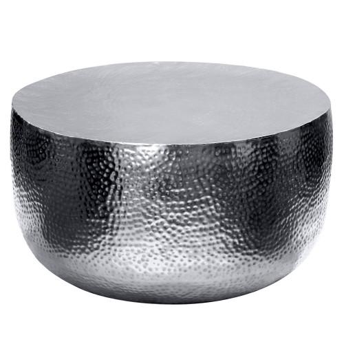 Table basse métal Fulki chrome