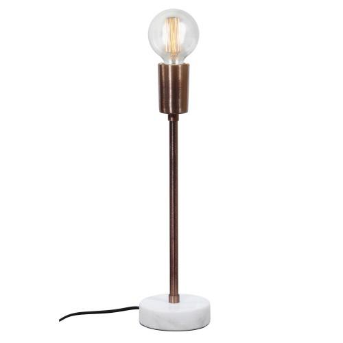 Lampe de bureau Zaria L cuivre (