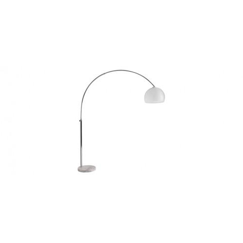 lampadaire boule blanche pied marbre pas cher