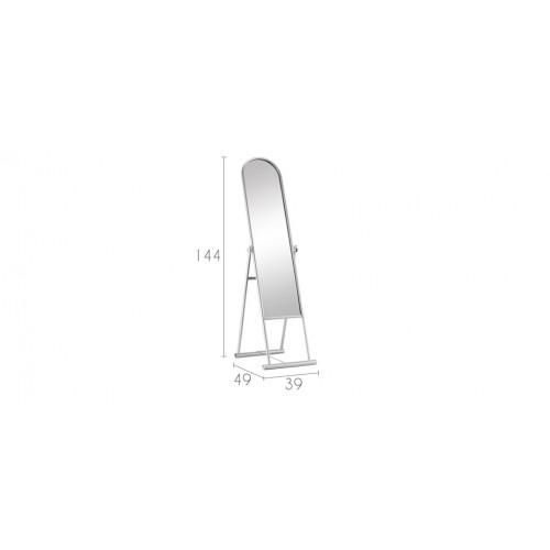 miroir sur pied acier d couvrez nos miroirs sur pied en acier design rendez vous d co. Black Bedroom Furniture Sets. Home Design Ideas