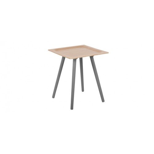 Table Basse Bambou Grise