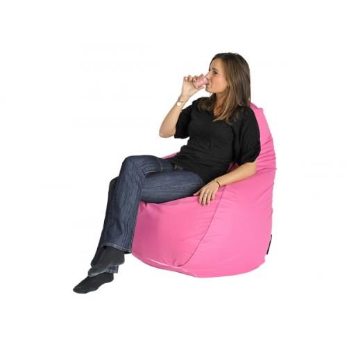 pouf poire rose sautez sur nos poufs roses rendez vous d co. Black Bedroom Furniture Sets. Home Design Ideas