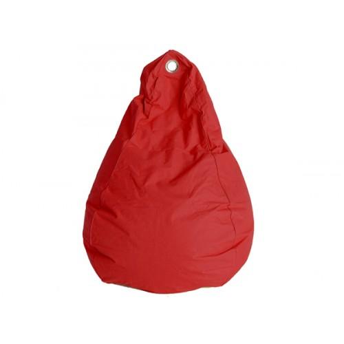 pouf poire rouge sautez sur nos poufs rouges rendez vous d co. Black Bedroom Furniture Sets. Home Design Ideas