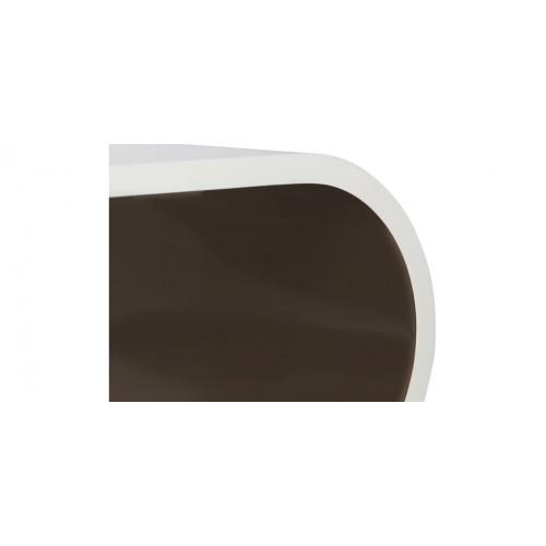 table basse tictac blanc taupe craquez pour nos tables basses multicolores design rdv d co. Black Bedroom Furniture Sets. Home Design Ideas