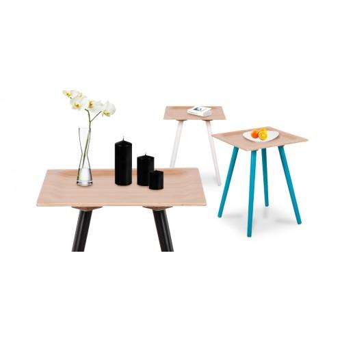 Table Basse Bambou Noire