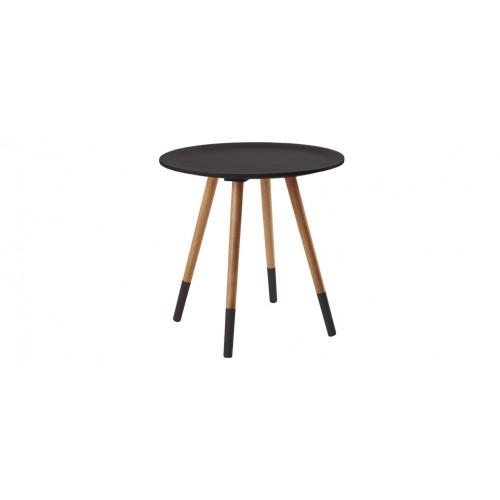 579f6660491 Table de salon ronde noire   commandez nos tables de salon rondes ...