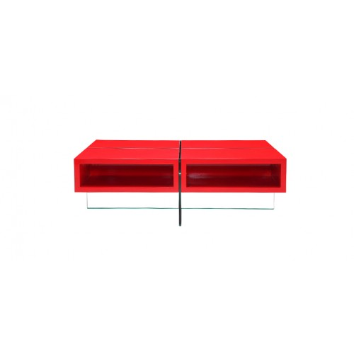 Charmant Table Basse Rouge Design