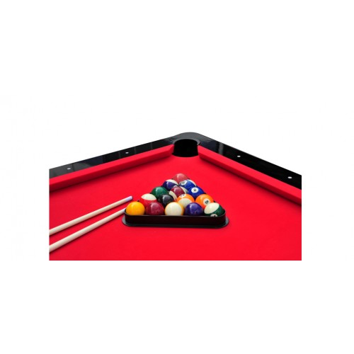 billard milton 7ft noir tapis rouge adoptez nos billards. Black Bedroom Furniture Sets. Home Design Ideas