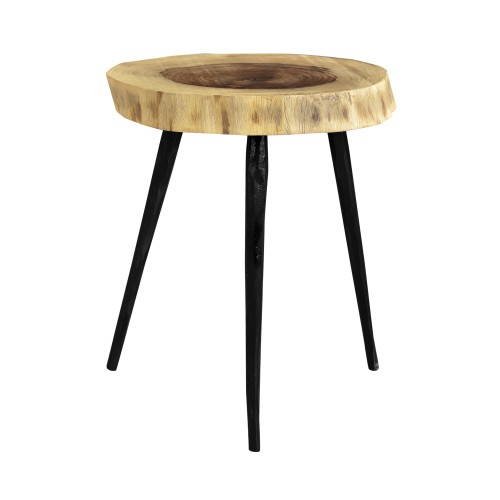 table rondin trepied