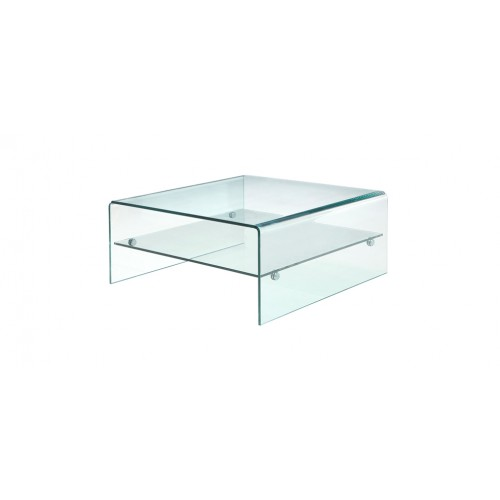 Table Basse Carree Verre.Table Basse Carree Pure