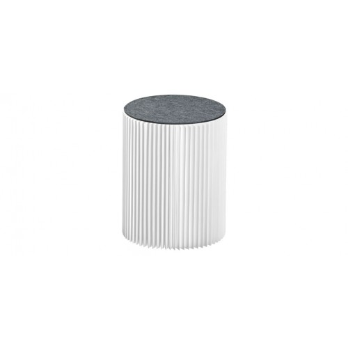 tabouret evora blanc en carton tabourets evora blanc en carton rdv d co. Black Bedroom Furniture Sets. Home Design Ideas