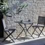 achat chaise pliante de jardin grise