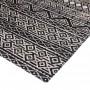 achat tapis cuir design ethnique