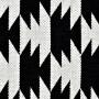 achat tapis noir et blanc 140 x 200 cm
