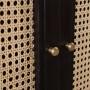 acheter armoire multi rangement en bois noir
