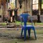 acheter chaise bleu lot de 2