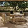 acheter fauteuil exterieur en bambou