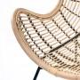 acheter fauteuil style jungle rotin naturel