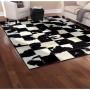 acheter tapis design motif peau de vache