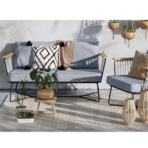 Canapé de jardin Margot 2 places
