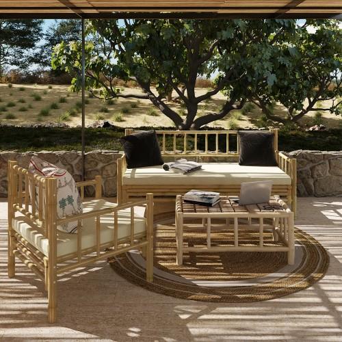 Canapé de jardin Vadella 3 places