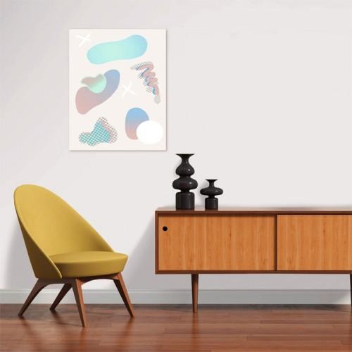 Poster Odile en papier 40 x 50 cm