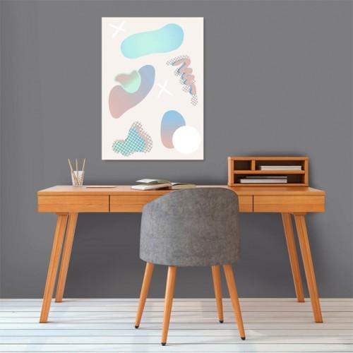 Poster Odile en papier 50 x 70 cm